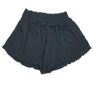 Heart & Hips Ruffle Hem Lounge Shorts Junior's M